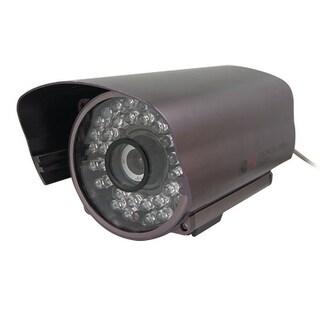 DC 12V Powered 1/3 CCD 8mm Lens Auto IR Color Camera