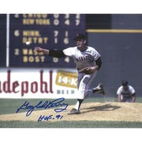 Gaylord Perry Autographed San Francisco Giants 8x10 Photo wHOF 91