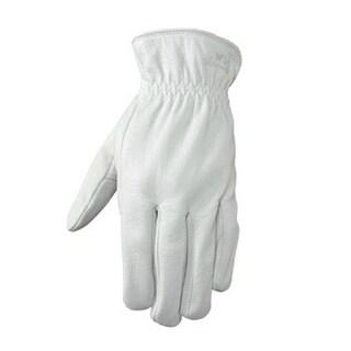 Wells Lamont 1720XL Grain Goatskin Leather Driver Glove, XL