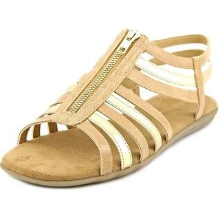 Aerosoles Chlothesline Women Open Toe Synthetic Tan Gladiator Sandal