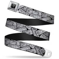 Harry Potter Logo Full Color Black White Harry Potter Potion Labels Webbing Seatbelt Belt