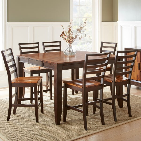 Copper Grove Jeanette Two-tone Counter-height Dining Set. Opens flyout.