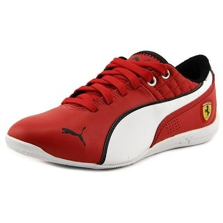Puma Drift Cat 6 SF NM Youth  Round Toe Leather Red Sneakers