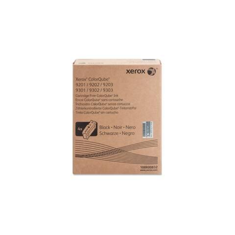 Xerox 108R00832 Xerox ColorQube Black Solid Ink, 108R832 - Black - Solid Ink - 40000 Page - 4 / Carton