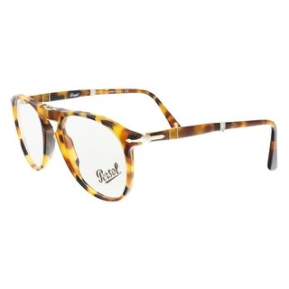 Persol PO9714VM 1052 Medium Havana Oval Optical Frames - 52-20-140