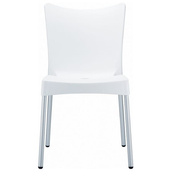 Juliette Resin Dining Chair - Set of 2 (White) - White