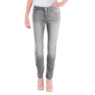 DL1961 Womens Angel Ankle Jeans Colored Denim Mid-Rise
