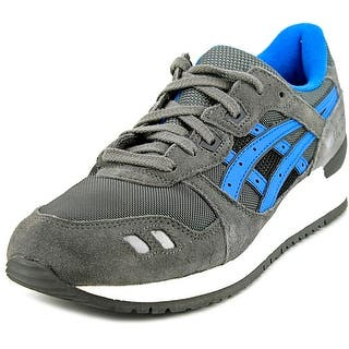 Asics Gel-Lyte III Men Round Toe Synthetic Gray Running Shoe|https://ak1.ostkcdn.com/images/products/is/images/direct/e1c4f6bb81e39985335e86ab79fefaa66650835e/Asics-Gel-Lyte-III-Men-Round-Toe-Synthetic-Gray-Sneakers.jpg?impolicy=medium