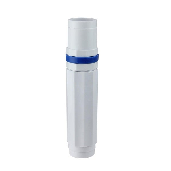 """7.5"""" White and Blue Deluxe Cam for Swimming Pool Telescopic Poles"""