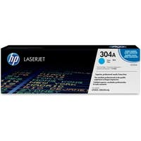 HP 304A Cyan Original LaserJet Toner Cartridge (CC531A)(Single Pack)