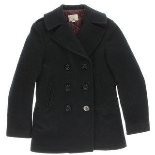 Sperry Womens Pea Coat Wool Double-Breasted