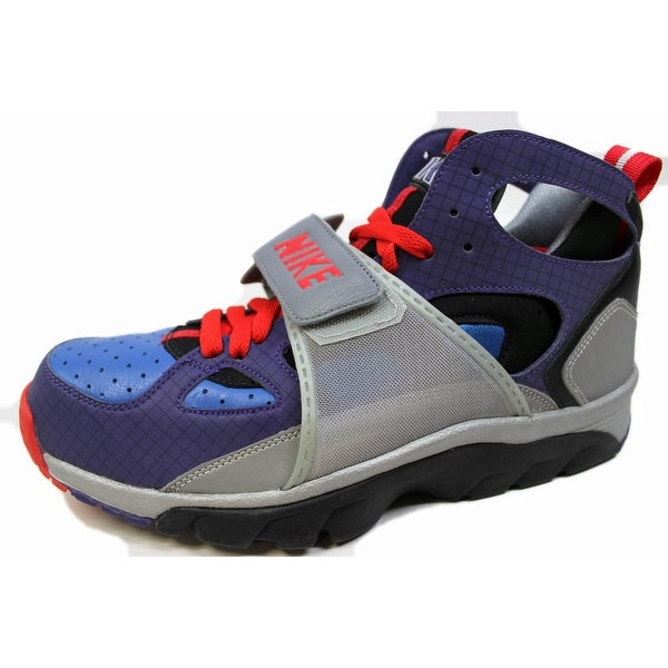 new concept 12a3e af679 Nike Men  x27 s Air Trainer Huarache Premium Varsity Purple Varsity Royal-