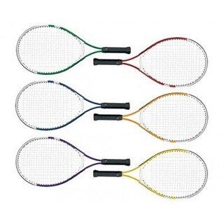 Olympia Sports 23 in. MAC-T Junior Aluminum Racquets, Set of 6
