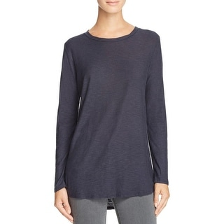 Michelle by Comune Womens Casual Top Long Sleeve Crew Neck - s