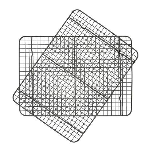 Taste of Home 17.5 x 12.5-inch Non-Stick Metal Cooling Rack (Set of 2)