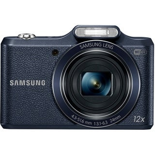 "Samsung WB50F 16.2 Megapixel Compact Camera - Black - 3"" LCD - (Refurbished)"