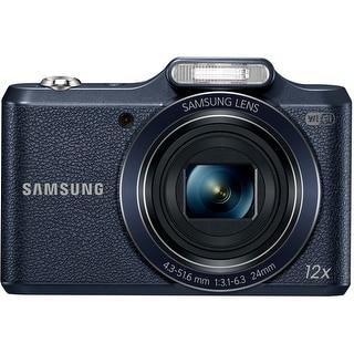 "Samsung WB50F 16.2 Megapixel Compact Camera - Black - 3"" LCD - (Refurbished)"