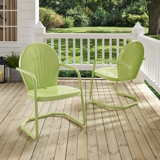 Link to Griffith Metal Chair In Key Lime Similar Items in Outdoor Coffee & Side Tables