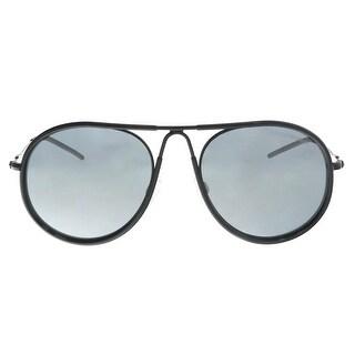 Emporio Armani EA2034 30146G Black Aviator Sunglasses - 54-19-140
