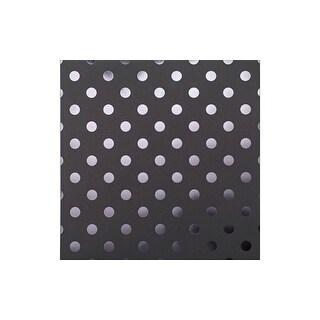 Bazzill Cdstk 12x12 Foil Tone Licorice Twist