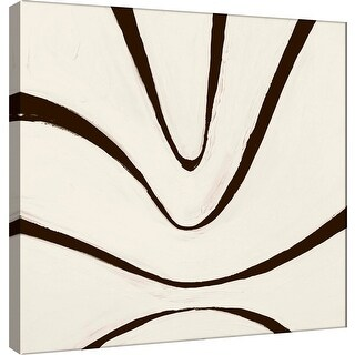 "PTM Images 9-100892  PTM Canvas Collection 12"" x 12"" - ""Sepia B"" Giclee Abstract Art Print on Canvas"