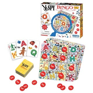Briar Patch I Spy Bingo Game, Ages 4 and Up