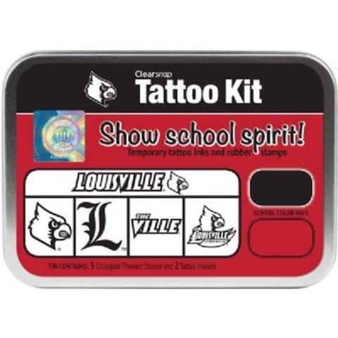 Clearsnap CS19630 University of Louisville Collegiate Tattoo Kit