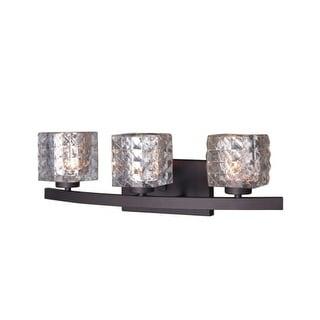 "Woodbridge Lighting 16353-C80414 Charlotte 3 Light 21"" Wide Bathroom Vanity Ligh"