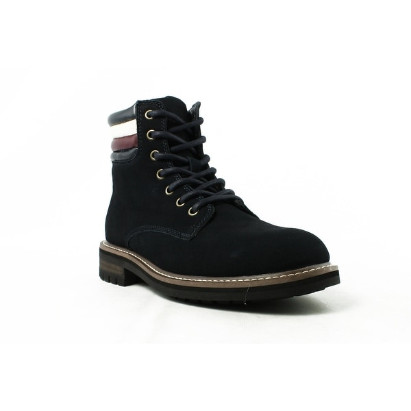 92ceeeb49492 Shop Tommy Hilfiger Mens Tmhalle Navy Ankle Boots Size 7 - Ships To ...