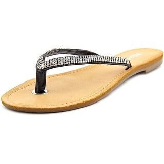 Report Sibel Open Toe Synthetic Thong Sandal