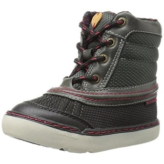 Step and Stride Boys Aragon Winter Boots Water Resistant