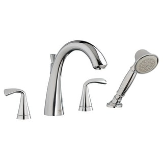 American Standard 7186.201  Fluent 1.2 GPM Centerset Bathroom Faucet with Pop-Up Drain Assembly