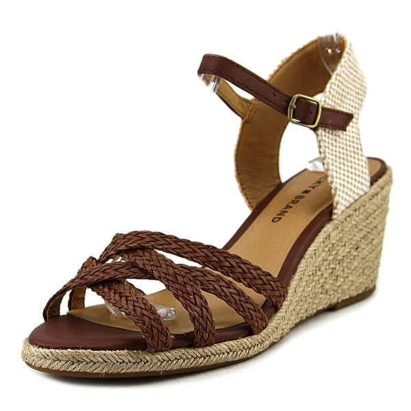 Lucky Brand LK-KALLEY2 Open Toe Canvas Sandals