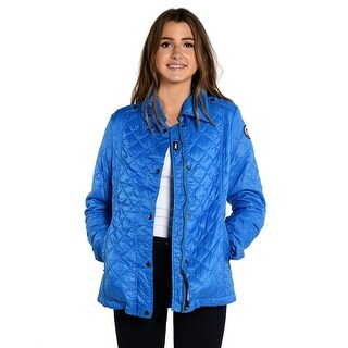 Gabby Down Jacket In Royal Blue