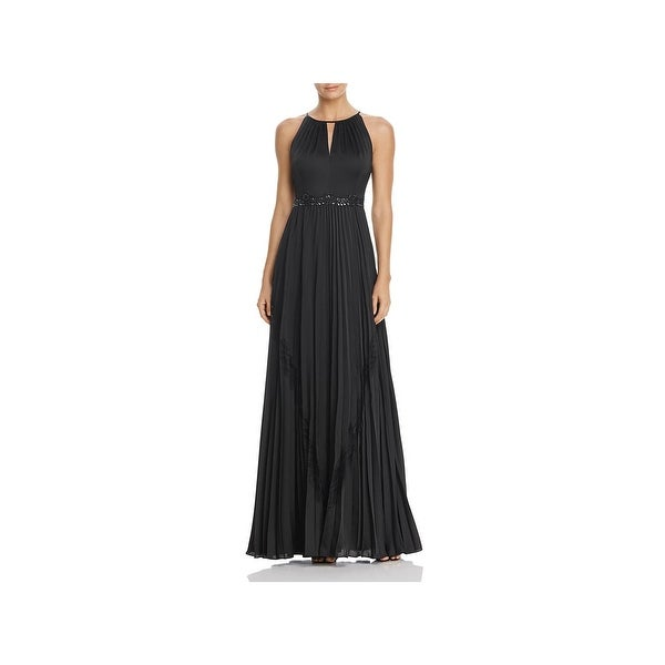 afc43069b Shop Adrianna Papell Womens Formal Dress Beaded Pleated - On Sale ...