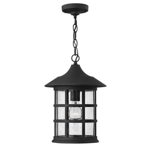 Hinkley Lighting 1802-LED 1 Light LED Outdoor Single Pendant From the Freeport Collection