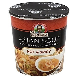 Dr. Mcdougalls 1 Ounce Clear Noodle Asian Soup, Hot & Spicy