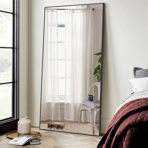 """Modern Large Rectangular 71"""" Full-Length Floor Mirror"""