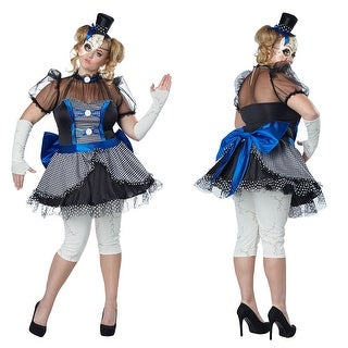 Womens Twisted Baby Doll Plus Size Costume