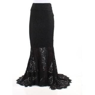 Womens Black Formal Skirt Size 2