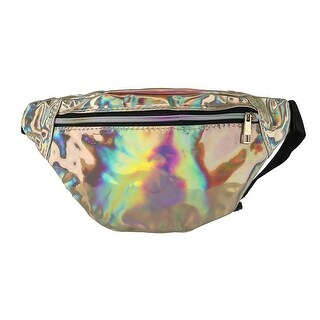 CTM® Iridescent Fashion Waist Pack - One size