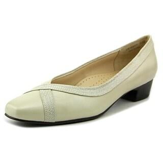 Mark Lemp By Walking Cradles Tracy Women N/S Square Toe Leather Heels