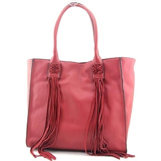 French Connection Laurel Tote Synthetic Tote - Red