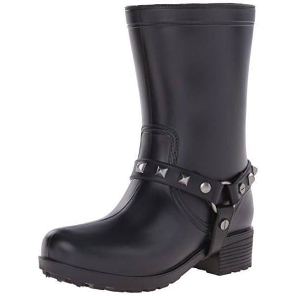 Dirty Laundry Womens Rock Steady Rain Boots Ankle Harness