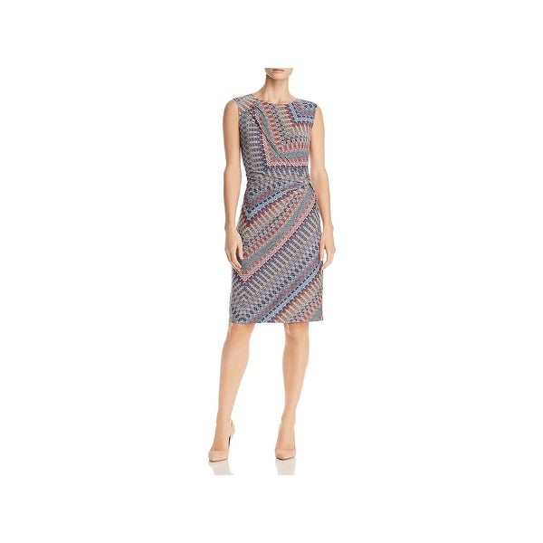 Nic + Zoe Womens Cocktail Dress Jersey A-Line