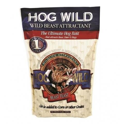 Evolved Habitat 34094 Hog Wild, Wild Beast Attractant, 4 Lb