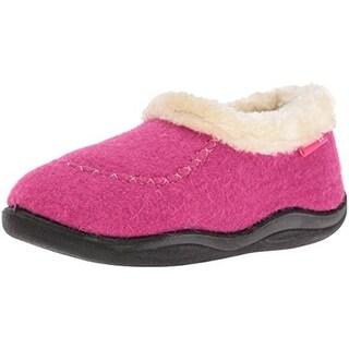 Kamik Girls Cozy Cabin 2 Loafer Slippers Faux Fur