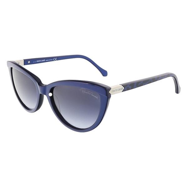 Roberto Cavalli RC787S/S 69W ACHIRD Shiny Blue Cateye sunglasses - shiny blue - 55-18-140