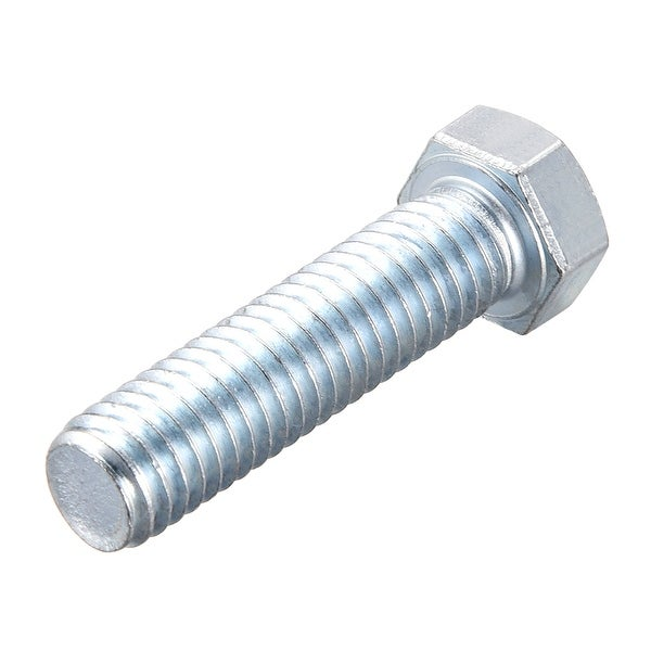 """5//16-18 X 1-1//2/"""" Chrome grade 8 hex head bolts qty 2 made in the USA"""