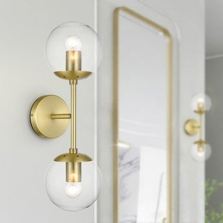 Link to Light Society Tesler Globe 2-Light Wall Sconce Similar Items in Sconces
